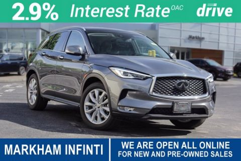 2019 INFINITI QX50 LUXE |Panoramic moonroof, Blind Spot warning, Remote engine start